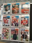 1987 Topps Football Complete Set 1-396 Kelly Cunningham RC's Great Condition!!