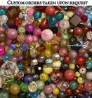 5 LBs Mixed Glass specialty beads