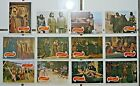 Large Lot (12) 1969 Topps PLANET OF THE APES Trading Cards CHARLTON HESTON