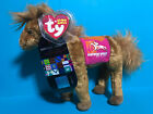 Ty Beanie Baby DERBY 134 Pink  w/ Kentucky Derby Store Exclusive Horse Tag VISA