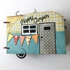 Happy Camper Paperbag Mini Album Premade Fully Embellished Camping Vacation