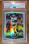 Aaron Rodgers 2014 TOPPS CHROME SILVER REFRACTOR WHITE JERSEY 83 PSA 10 =BGS 9.5