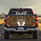 Native Indians American Wolf Tailgate Wrap Graphic Vinyl Decal