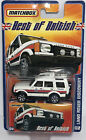 Matchbox 164 Best of British Land Rover Discovery 02 White Police 2006 New