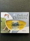 2012 SP Game Used Inked Drivers ZACH JOHNSON AUTO #33 35 (MINT)
