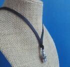 BARRY KIESELSTEIN CORD STERLING SILVER SMALL ALLIGATOR HEAD PENDANT NECKLACE