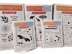 Lot of 5 Clearly Gina K Photopolymer  Regular Stamp Sets NEW