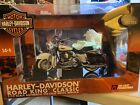 Diecast Promotions 112 Scale Harley Davidson Road King Motorcycle Black Bags