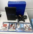 Sony Playstation 2 PS2 - Boxed, Tested And Working - With Controller And Games
