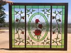 Stained Glass Window Panel Rose Garden