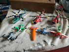 Mattel Disney Pixar Planes Airplane helicopter Diecast Toy Lot of 7