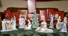 """Lladro """"Night Before Christmas"""" 9 Piece Series Collection Original Boxes Retired"""