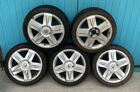 RENAULT SPORT CLIO 172 16 Inch Alloy Wheels X5 With Tyres 195/45/16 4x100 PCD