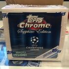 2020-21 UEFA Champions League Topps Chrome Sapphire Edition Factory Sealed Box