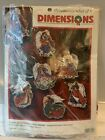 Dimensions Angels of Christmas Ornaments Counted Cross Stitch Kit 8490 New