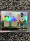 Mickey Mantle 2011 Topps Tribute Dual Relic 75 *RARE Game-used Topps Certified!