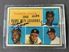HANK AARON ERNIE BANKS 2004 TOPPS ORIGIN SEALED DUAL AUTOGRAPH ONLY 3 MADE L@@K