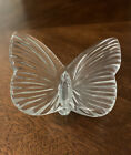 Waterford Crystal Glass Butterfly 375 W Glass Figurine Made In Ireland