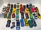 Huge Mixed lot 37 Hot Wheels Matchbox Toy Cars Some Diecast 80s To Now