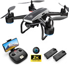 DEERC D50 Drone for Adults with 2K UHD Camera FPV 120 FOV 1080P Live Video Tap