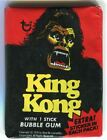 1976 King Kong Bubble Gum Vintage Trading Card Wax Pack Topps