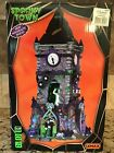 LEMAX SPOOKY TOWN SIGHTS AND SOUNDS HAUNTED CLOCK TOWER - GREAT CONDITION