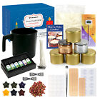 DIY Candle Making Kit 22 lbs Soy Wax Thermometer Candle Wicks Melting Pot