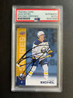 Jack Eichel Signs Exclusive Autograph Card Deal with Leaf 16
