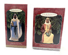 Vintage Hallmark Legend of 3 Three Kings Collection Lot of 2 Ornaments