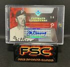 2004 ULTIMATE JIM BUNNING SIGNATURES AUTO #1 1 HALL OF FAME AUTOGRAPH