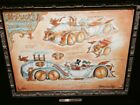 DISNEY PARKS EXCLUSIVE MARK PAGE MCDUCKS STEAM POWERED TIME TRAVEL SEDAN GICLEE