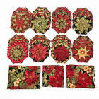 70 New Quilt Blocks 5 Kaleidoscope Stack N Whack Octagons Unfinished + Remnants