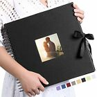 Vienrose Scrapbook Photo Album 12x12 Inch DIY with Cover Photo Pocket 80 Page