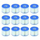 12 Pack Set Spa Hot Tub Filter Cartridge Pool Type S1 Replacement Easy To Clean