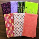 7 Half Yard Cuts  Novelty Mix Lot 5 Quilting Sewing 100 Cotton E3205