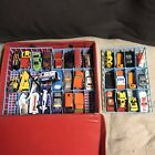 VINTAGE TARA TOY CORP 24 CAR CARRY CASE W TRAYS And HOT WHEELS MATCHBOX 1970s