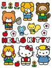 Hello Kitty Flowers Poster Sticker Wall Decal 34x26in 91452
