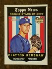 Clayton Kershaw Signs Exclusive Autograph Deal with Topps 20