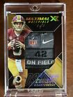 1 1 2017 Panini XR Game Used GU Patch Kirk Cousins Beautiful Card Redskins