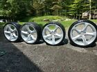 Set of 4 BMW OEM E92 2009 335i 3 series m sport 19 wheels with tires
