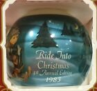 Ride into Christmas 1983 First Annual Edition Goebel MJ Hummel Glass Ornament