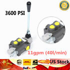 1 Spool Hydraulic Directional Control Valve Manual Operate 11GPM 3600PSINew
