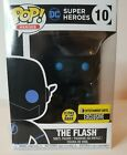 Funko Pop Heroes #10 The Flash Glow In Dark DC Entertainment Earth Exclusive