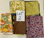 QUILT FABRIC GRAB BAG HUGE 19 PIECE LOT 6 LBS QUALITY COTTON FABRIC LOT2