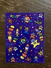 Lisa Frank Vintage Astronaut And Outer space Sticker Sheet