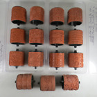 Lot of 15 Stampin Up Around 2 Roller Wheel Rubber Rollagraph Stamps