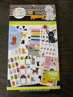 Happy Planner Colorful Dogs Sticker Book