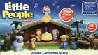 Fisher Price Little People Deluxe Christmas Story Nativity Scene