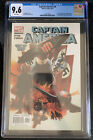 Captain America #6 CGC 9.6 1st Full Appearance of Winter Soldier 2005 NOT 9.8