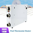 11KW 380V Pool Heater Thermostat Swimming Pool SPA Electric Water Heater Pump